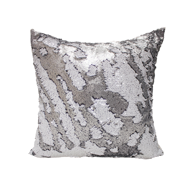 Decorative Pillows Recommendations : Mercer41 Laraine Sequin Throw Pillow Wayfair