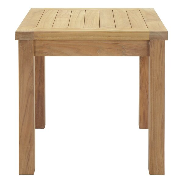 Elaina Teak Side Table by Beachcrest Home
