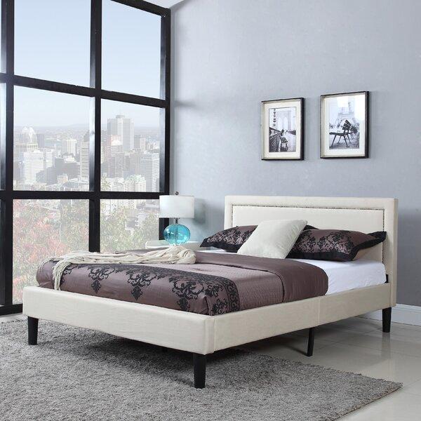 Morwenna Upholstered Platform Bed by Andover Mills