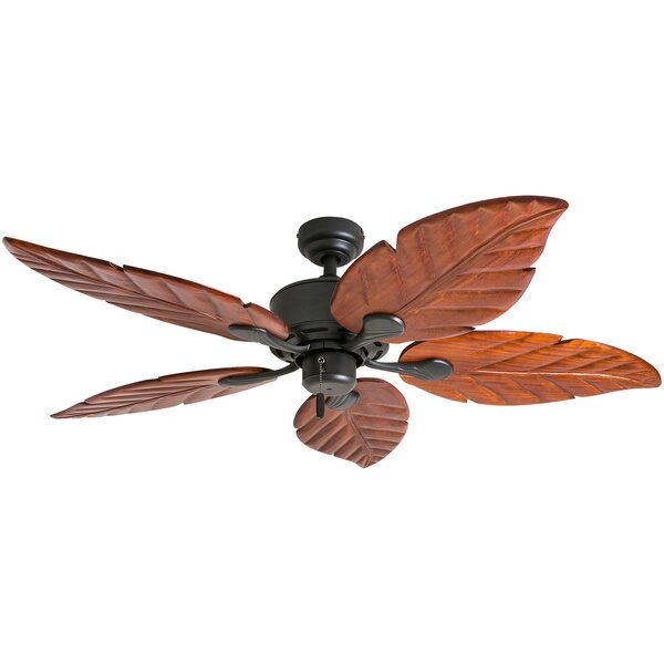 52 Willow View Tropical 5 Blade Ceiling Fan by Honeywell