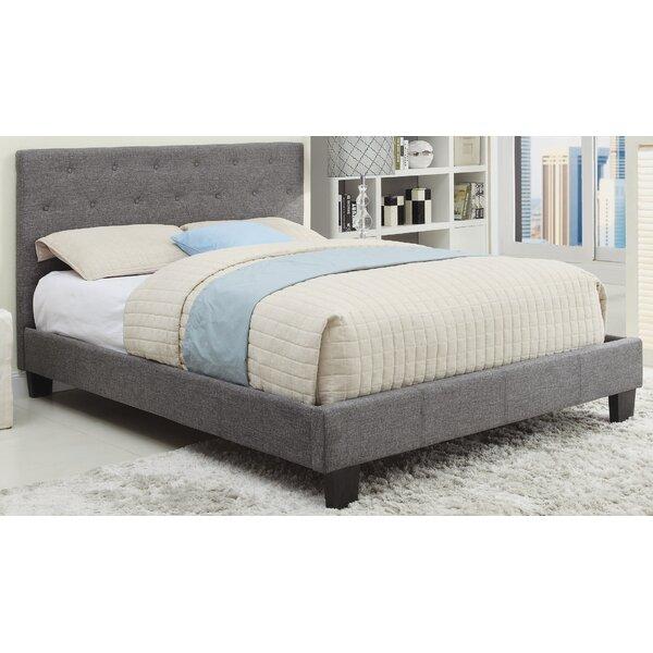 Upholstered Platform Bed by Ebern Designs