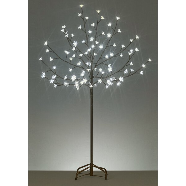 LED Lighted Cherry Blossom Flower Tree by Latitude Run