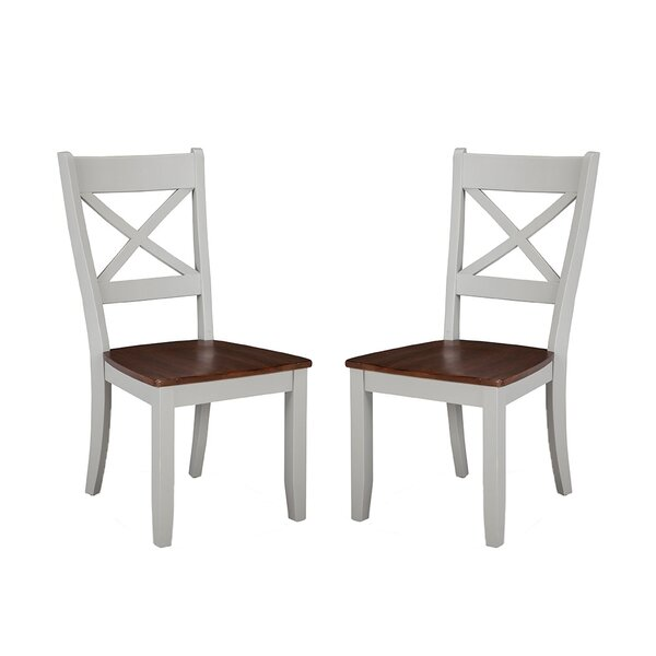 Best Choices Stanton Solid Wood Dining Chair (Set Of 2) By Gracie Oaks 2019 Sale