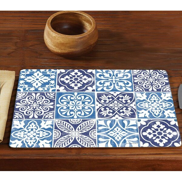 Corbett Hardboard 15.75 Placemat (Set of 2) by Bungalow Rose