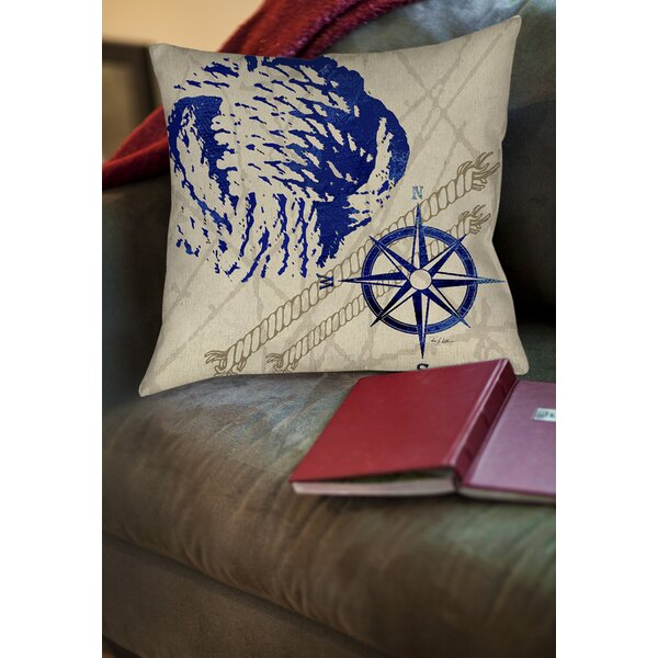 Clermont Printed Throw Pillow by Breakwater Bay