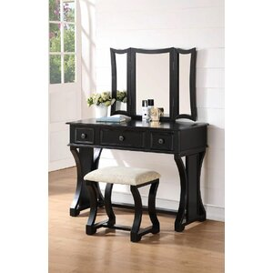 Eveline Vanity Set with Mirror
