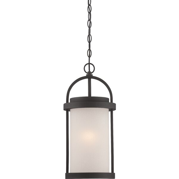 Carrie 1-Light LED Outdoor Pendant by Darby Home Co