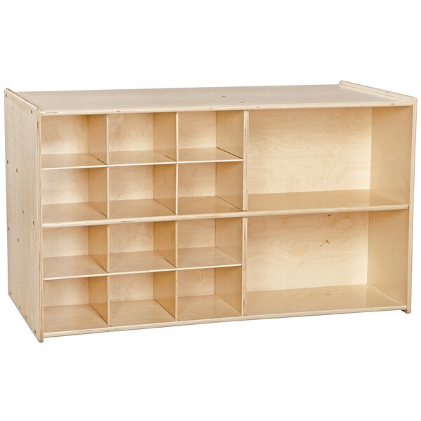 Clarendon Double Sided 14 Compartment Cubby by Symple Stuff