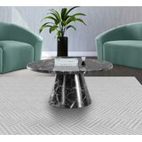 Laidley Pedestal Coffee Table by Everly Quinn