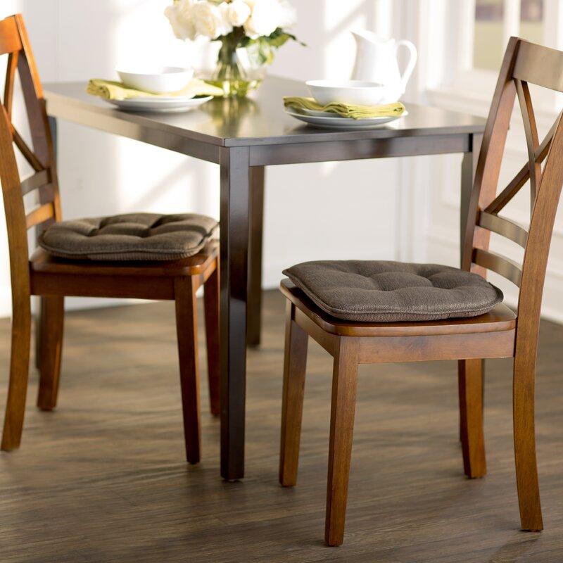 Wayfair Basics Gripped Chair Cushion Set (Set Of 4)