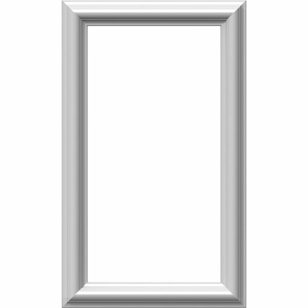 Ashford 20H x 12W x 1/2D Molded Classic Wainscot Wall Panel by Ekena Millwork