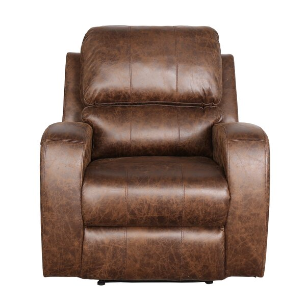 Guillermina Faux Leather Power Recliner W003445240