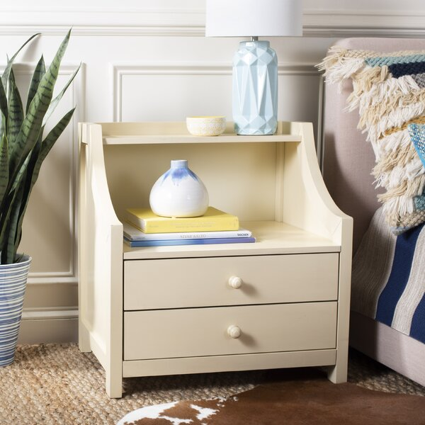 Busey 2 Drawer Nightstand by Gracie Oaks