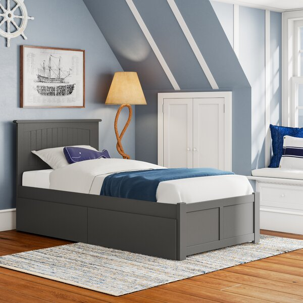 Bolin Platform Bed with Drawers by Isabelle & Max