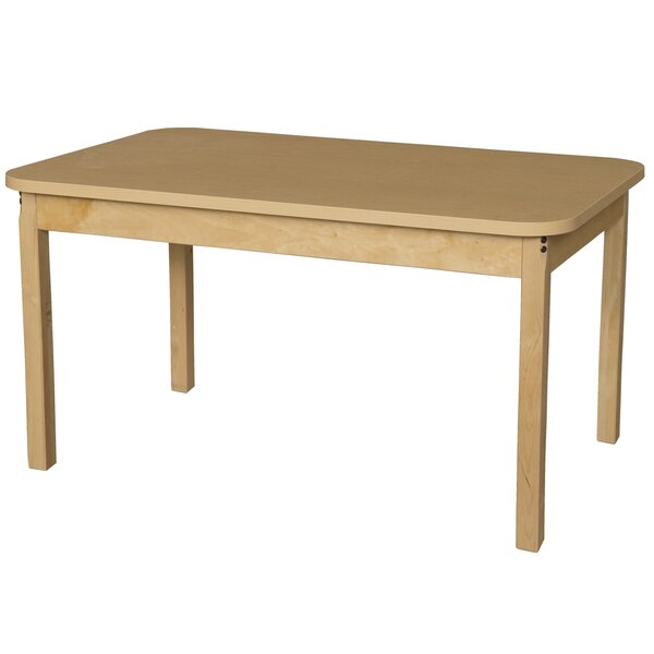 48 x 30 Rectangular Activity Table by Wood Designs