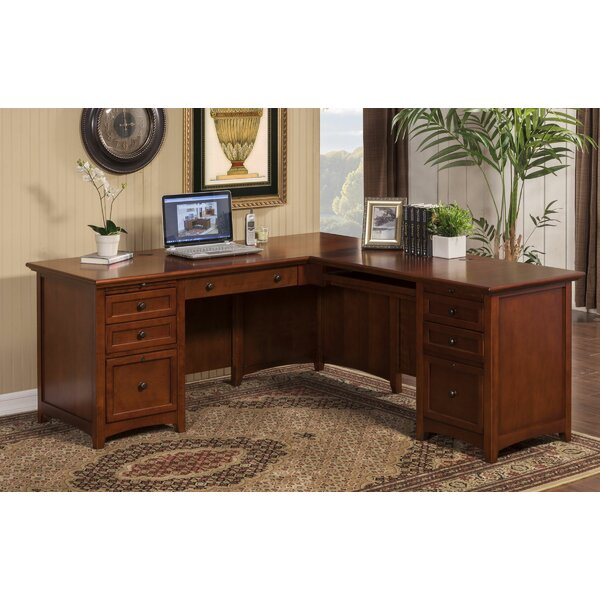 Seger L-Shape Executive Desk by Darby Home Co