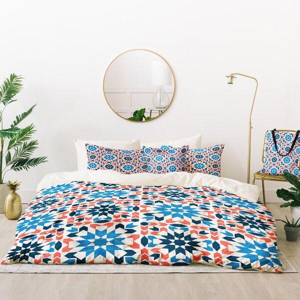 Zoe Wodarz Sunbaked Arrow Tile Duvet Cover Set