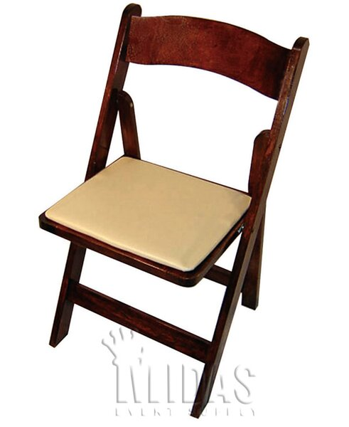 Classic Vinyl Padded Folding Chair by Midas Event Supply