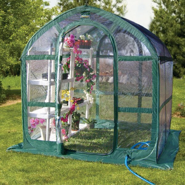 Springhouse 6 Ft. W x 6 Ft. D Greenhouse by Flowerhouse
