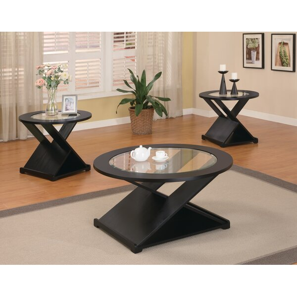 Amalga 3 Piece Coffee Table Set by Wildon Home ®