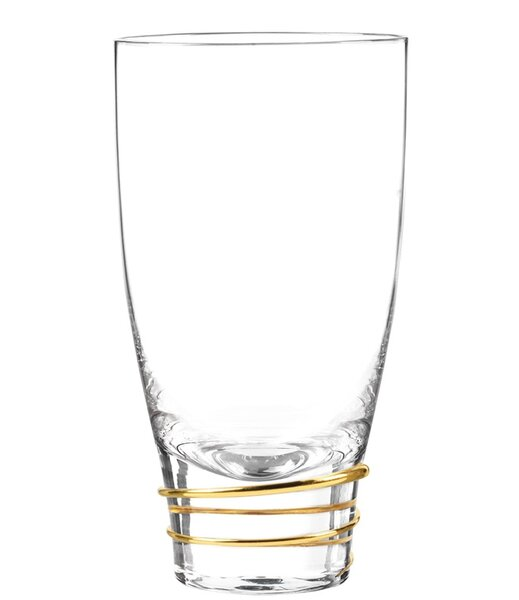 Helix Highball Glass (Set of 4) by Qualia Glass