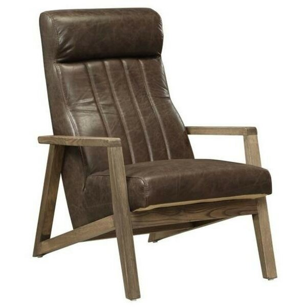Melton Top Grain Leather Armchair By 17 Stories