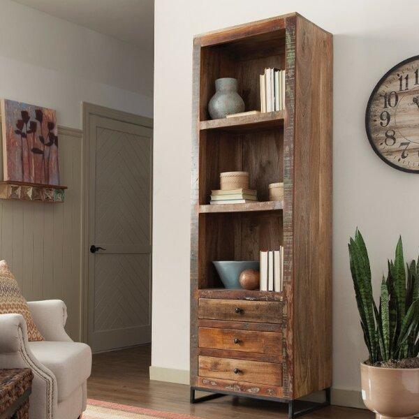 Enciso Wooden Corner Unit Bookcase by 17 Stories