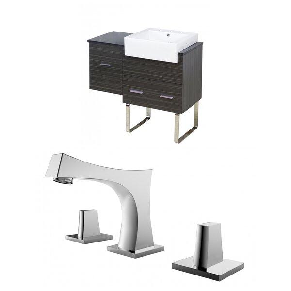 Hindman 37 Single Bathroom Vanity Set by Royal Purple Bath Kitchen