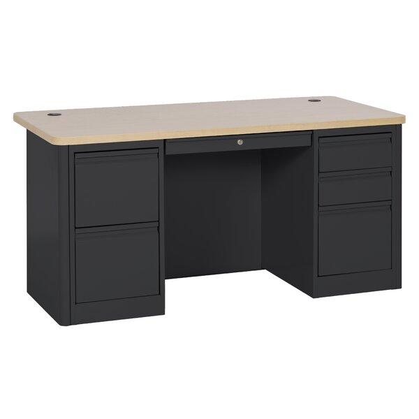 900 Series Double Pedestal Computer Desk by Sandusky Cabinets