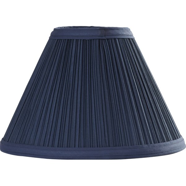 10 Pleated Linen Empire Lamp Shade by Darby Home Co