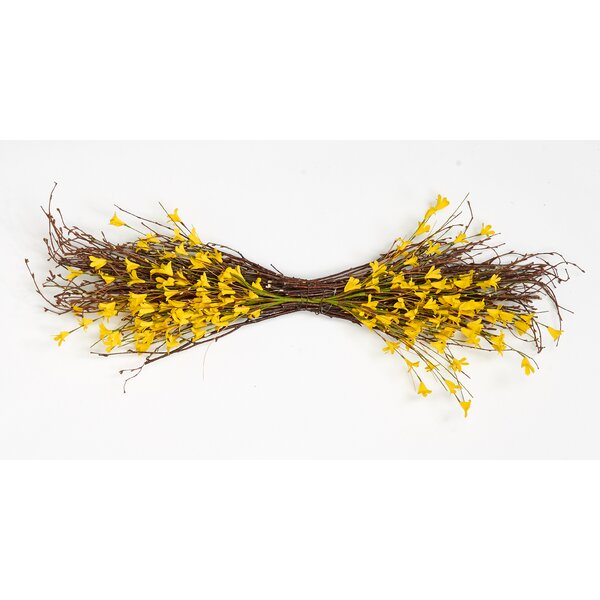 Forsythia Twig Swag by Worth Imports