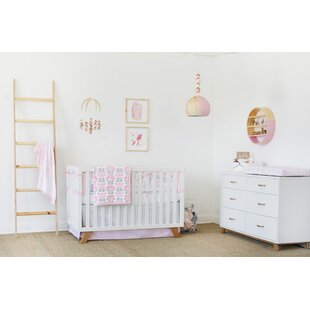 Inexpensive Dreaming in Dax 3 Piece Crib Bedding Set By Petunia Pickle Bottom