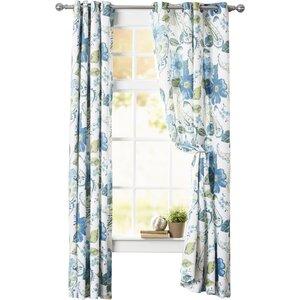 Dixon Room Darkening Window Thermal Curtain Panels (Set of 2)