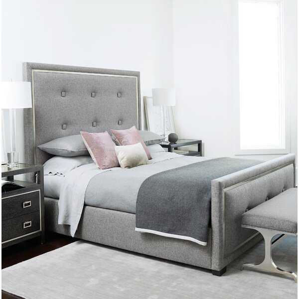 Decorage Upholstered Standard Bed by Bernhardt