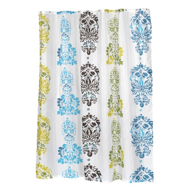 Oivia Shower Curtain by Carnation Home Fashions