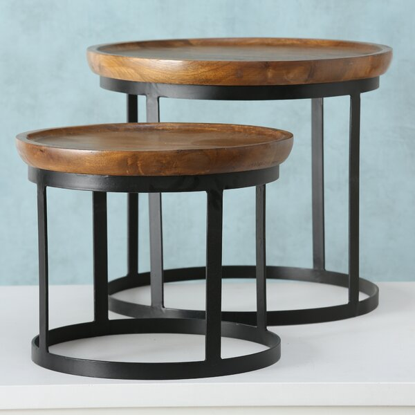Aria 2 Piece Nesting Tables Set by Gracie Oaks
