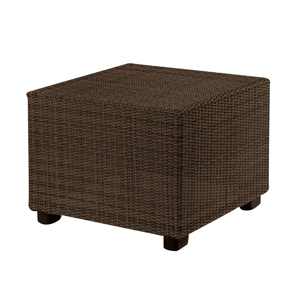 Montecito Wicker Side Table by Woodard
