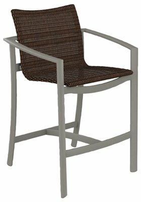 Kor Woven 28 Patio Bar Stool by Tropitone