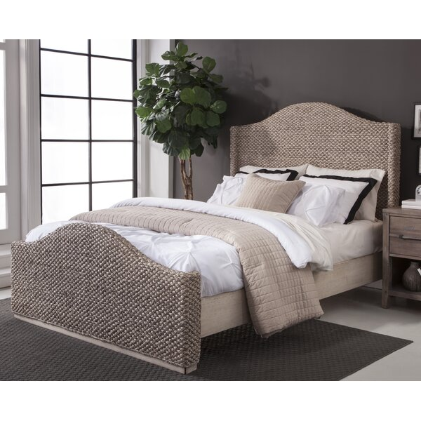 Nigel Woven Standard Bed by Bay Isle Home