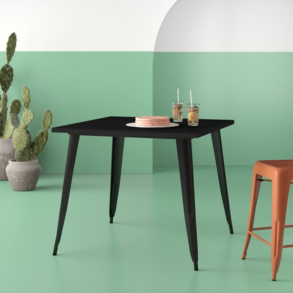 Brandt Metal Dining Table by Hashtag Home Hashtag Home