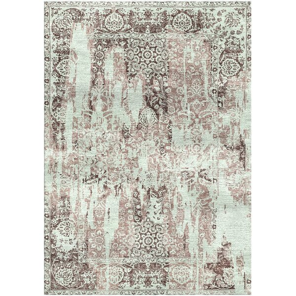 Aliza Handloom Gray/Brown Area Rug by Bungalow Rose