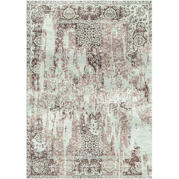 Aliza Handloom Gray/Brown Area Rug by Bungalow Rose