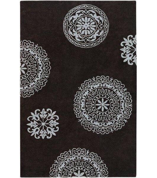 Greyson Hand-Tufted Dark Grey Area Rug by Threadbind