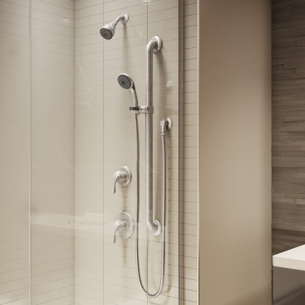 Origins Handheld Shower Head Complete Shower System by Symmons