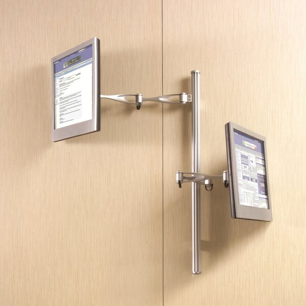 Double Extending Arm/Tilt/Swivel Wall Mount for LCD by Cotytech