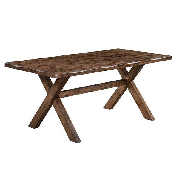 Montanez Extendable Solid Wood Dining Table by Loon Peak Loon Peak