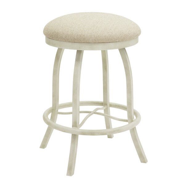 Voyles 26 Swivel Bar Stool by Ophelia & Co.