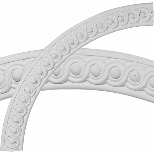 Hillsborough 40 1/4H x 40 1/4W x 3 1/8D Running Coin Ceiling Ring by Ekena Millwork