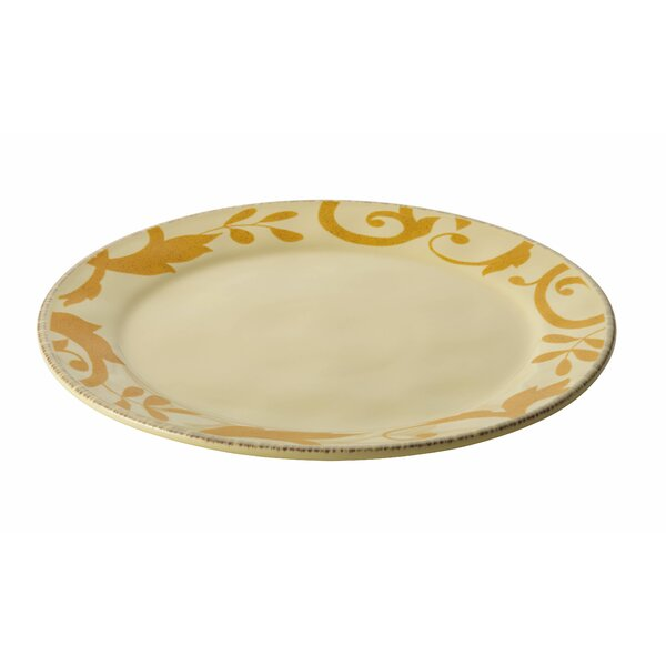 Gold Scroll Platter by Rachael Ray