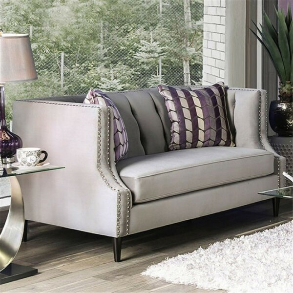 Shields Loveseat By Everly Quinn by Everly Quinn Discount